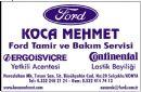 Koca Mehmet Ford Servisi