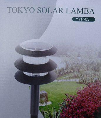 Ürünler güneş enerjili bahçe aydınlatması panama